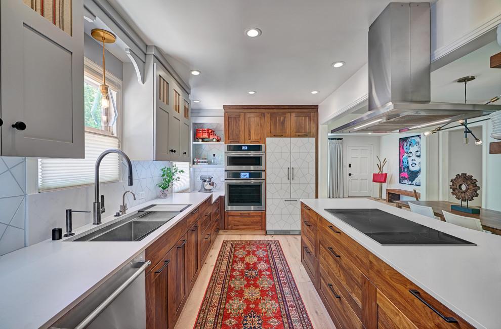 Lago Bungalow Kitchen Contemporary Kitchen Sacramento By Nar Design Group Houzz