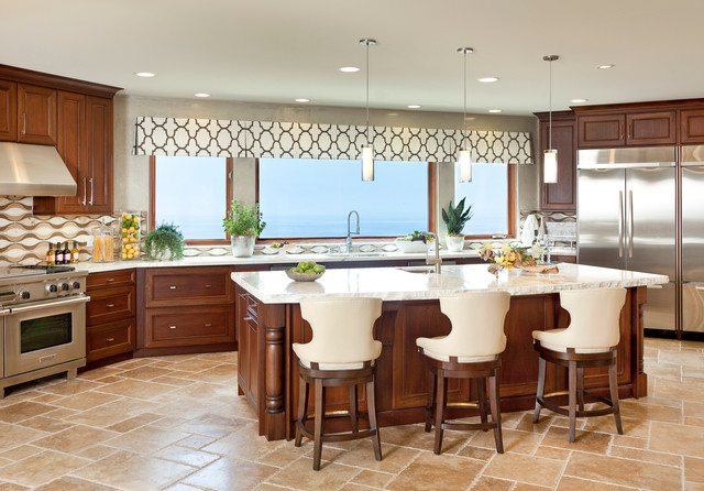 Kitchen Valance Ideas Captivating Kitchen Valance  Houzz Decorating Inspiration