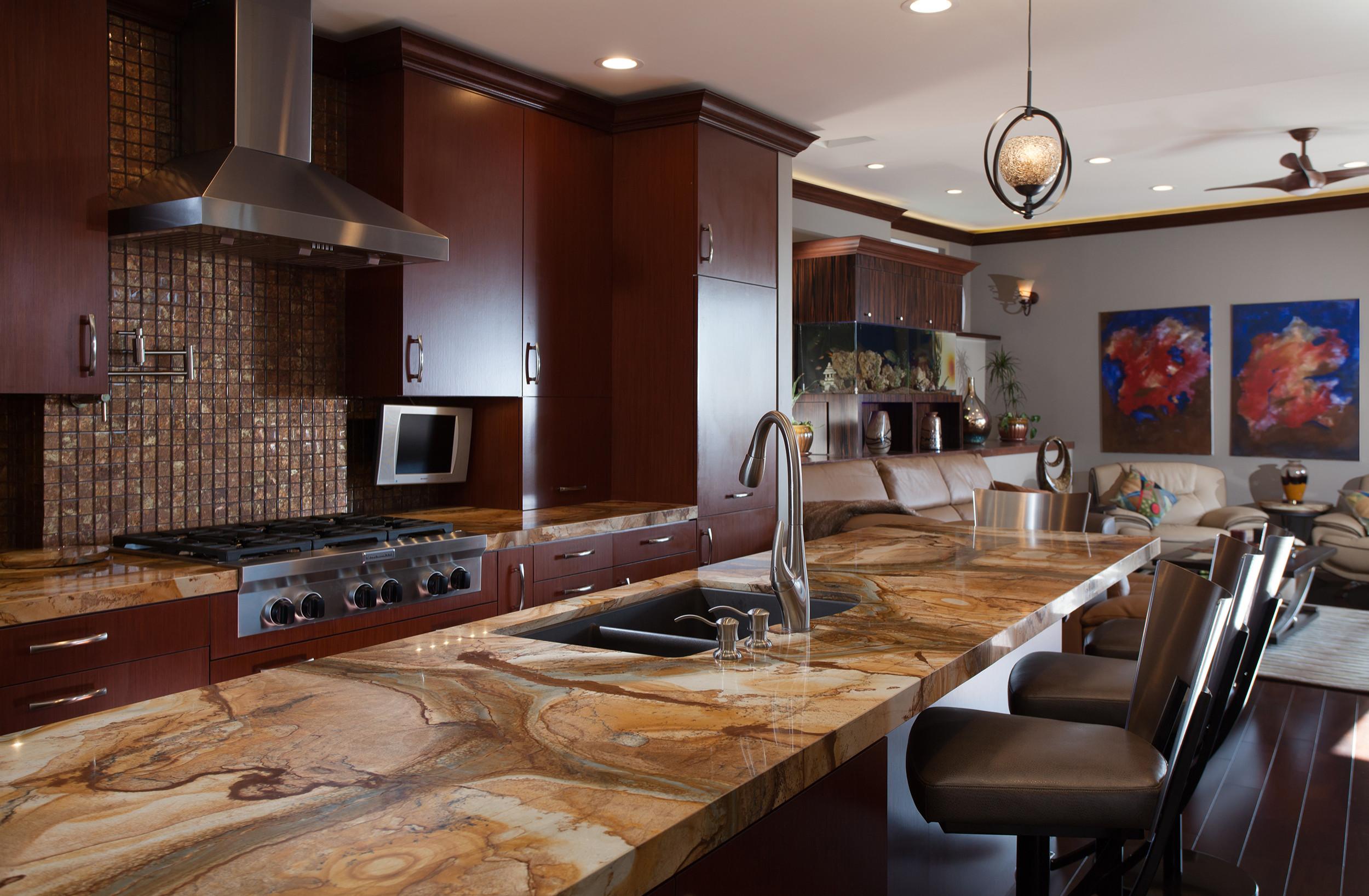 Laguna Beach Kitchen remodel and room addition
