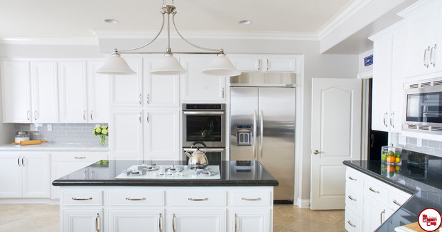 Laguna Hills All White Kitchen Remodel Traditional Kitchen Awesome Kitchen Remodel Orange County Property