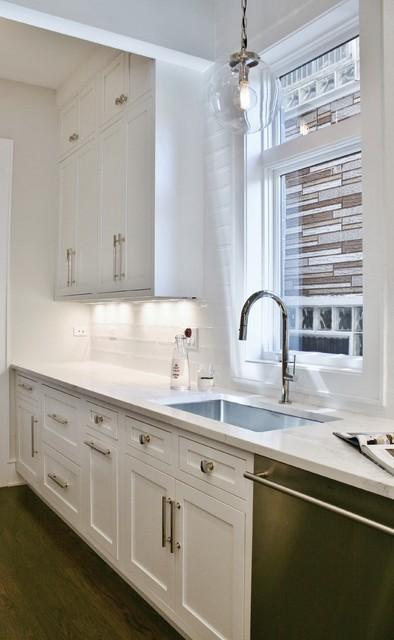 Laidback Luxe Kitchen - Transitional - Kitchen - Chicago ...