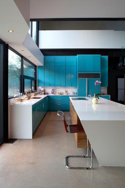 lake austin residence modern kitchen austin by merzbau design collective