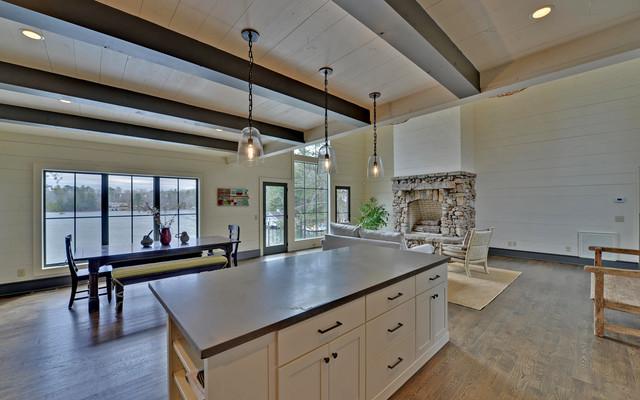 Lake Burton Custom Homes rustic-kitchen
