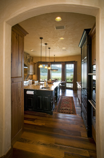 Lake Cabin - Traditional - Kitchen - denver - by Lynne ...