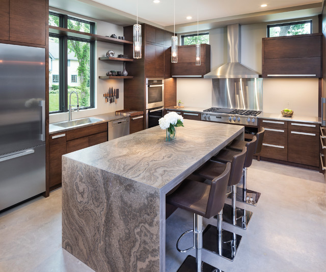 Superior Lake Calhoun Organic Modern Modern Kitchen