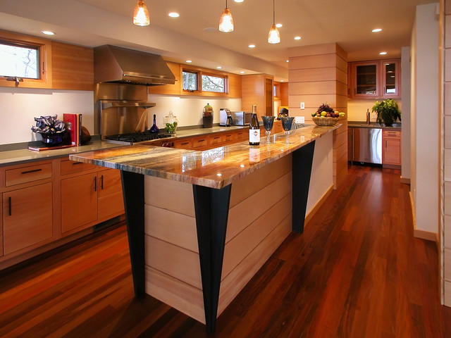 Kitchen - eclectic kitchen idea in Other