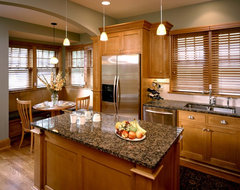Lake Country Builders traditional kitchen
