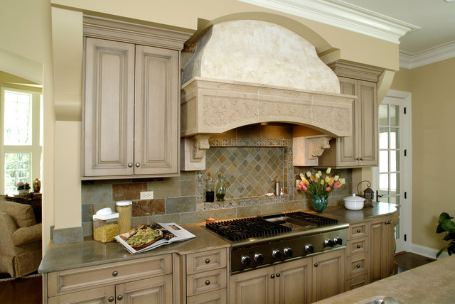 Lake Forest custom residence 01 - Traditional - Kitchen - Chicago - by Fieldcrest Builders Inc