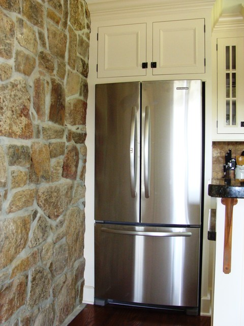 Lake George Historic Remodel traditional-kitchen