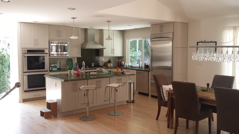 Lake Hollywood - Modern - Kitchen - Los Angeles - by ...