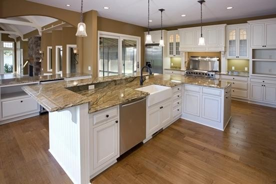 Lake Home traditional-kitchen