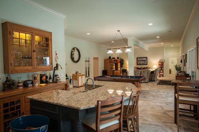Lake Home traditional-kitchen