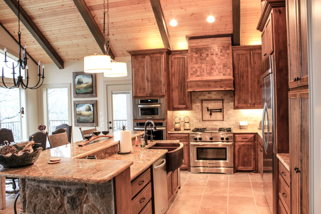 Lake House - Rustic - Kitchen - Other - by Ceci Bates Custom Homes & Remodeling
