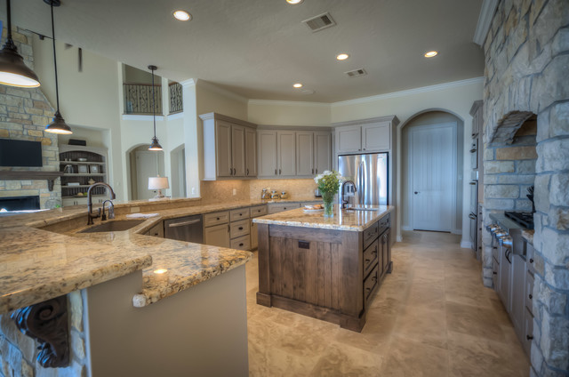 Lake house transitional kitchen minneapolis by for Lake house kitchen designs