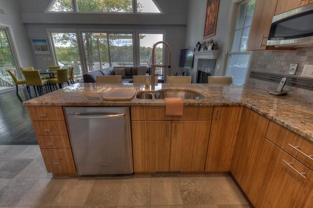 Lake House Getaway: Kitchen eclectic-kitchen