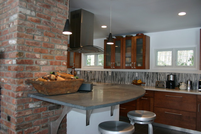 Lake House eclectic-kitchen