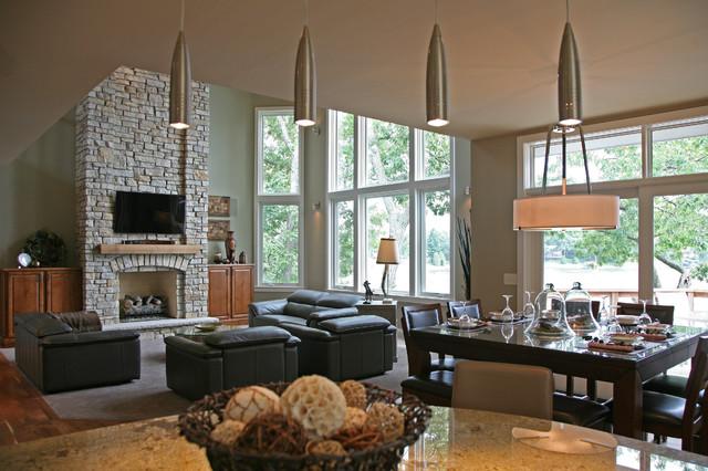 Interior Designers Decorators Lake House Contemporary Kitchen