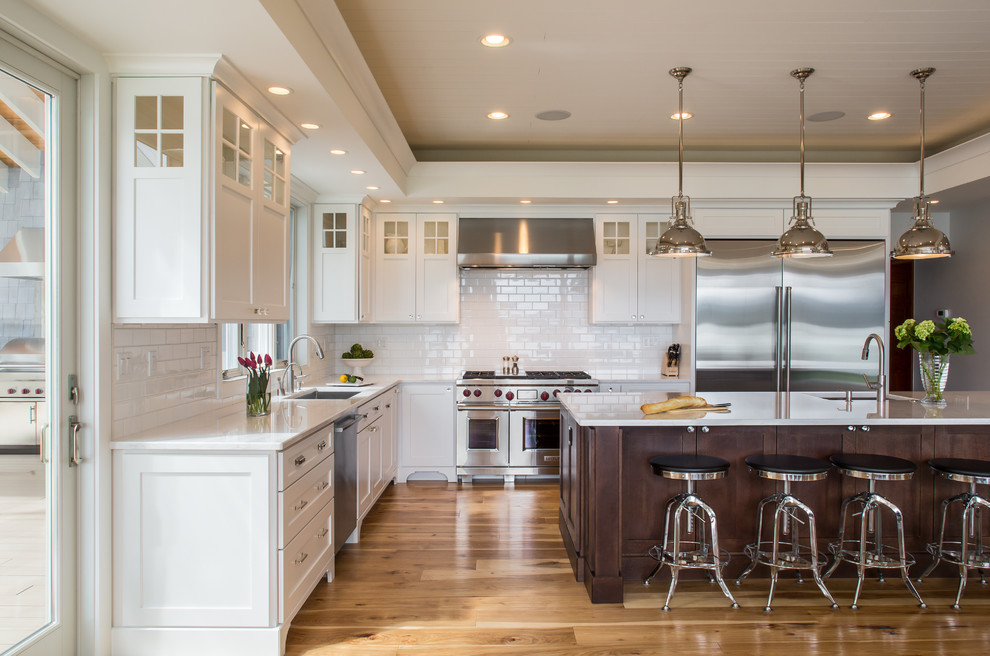 Lake House Kitchen Remodel Traditional Kitchen Seattle By Selle Valley Construction Inc