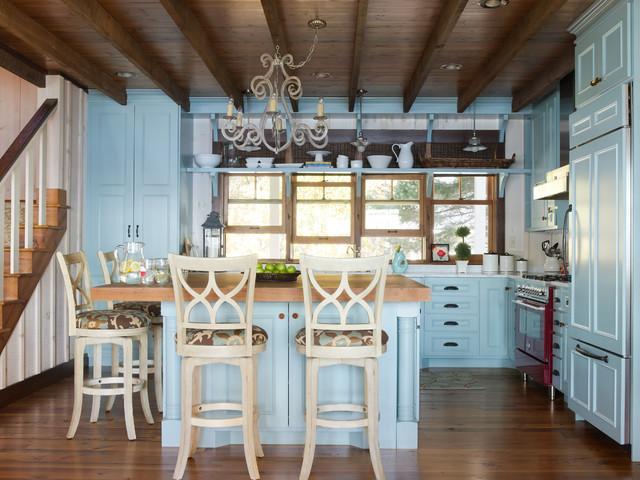 Lake House Minnesota farmhouse-kitchen