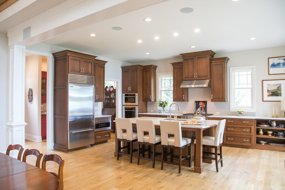 Lake House Prairie Style Kitchen and Bath Cabinetry ...