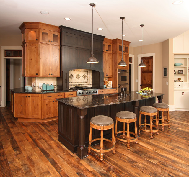 Lake house traditional kitchen other by southern for Kitchen design houzz