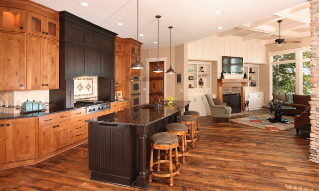 Lake House Traditional Kitchen Other Metro By Southern Studio Interior Design