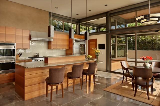 Lake House Two Kitchen Modern Kitchen Seattle By
