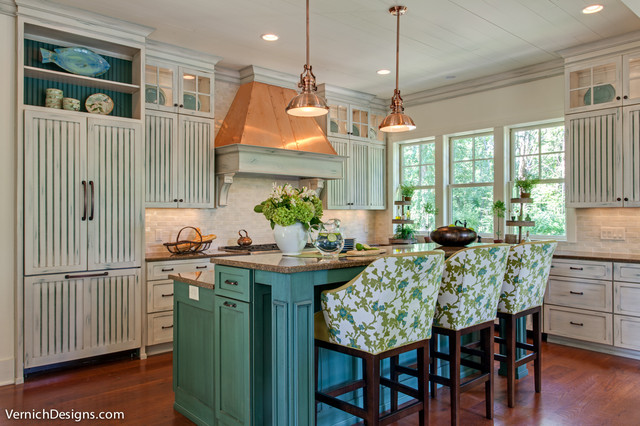 Lake House Traditional Kitchen Nashville By Connie Vernich Designs