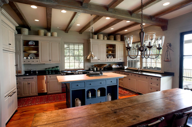 Lake Houses Traditional Kitchen Dallas By Durrett