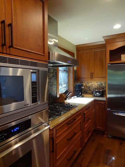 Lake Lure, NC Residence - Award Winning Project traditional-kitchen