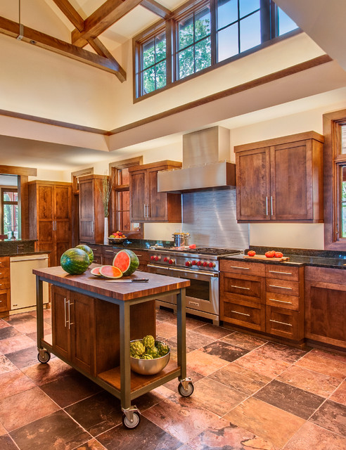 Lake Michigan Home Rustic Kitchen Milwaukee By