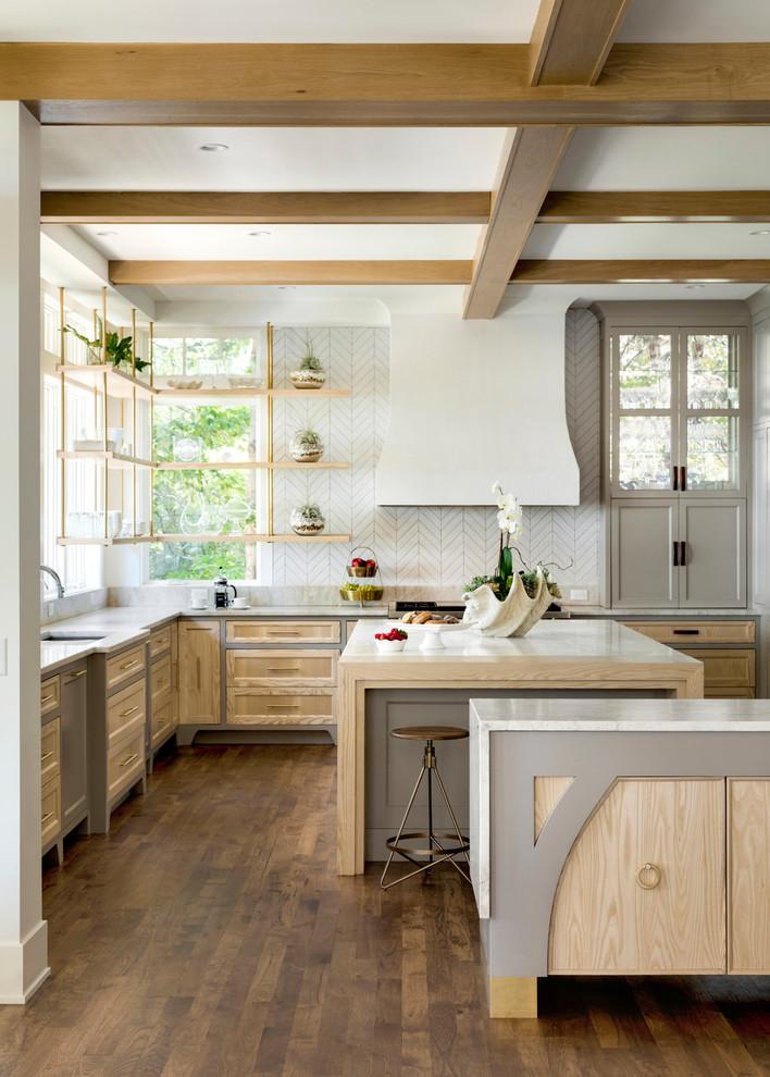 Farmhouse kitchen photo in Minneapolis