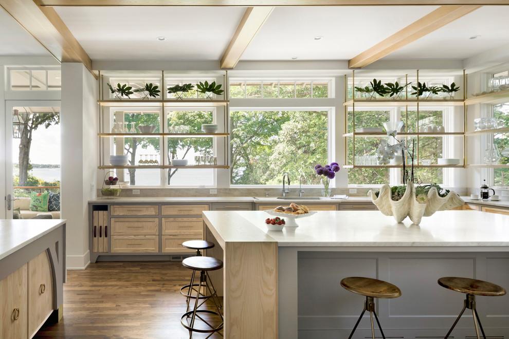 Country kitchen photo in Minneapolis