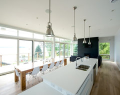 Lake of the Woods modern kitchen