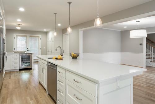 Contemporary Kitchen Remodel in Portland Oregon