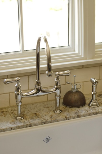 Bridge Faucet traditional kitchen