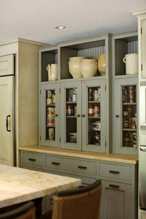 Pantry & Baking Center traditional kitchen