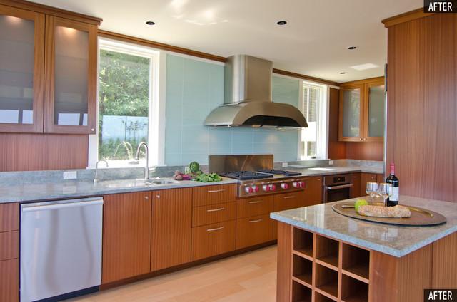 Lake Oswego Modern modern-kitchen