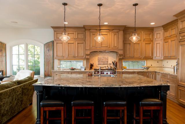Lake rd bay village kitchen traditional kitchen - Bathroom showroom cleveland ohio ...