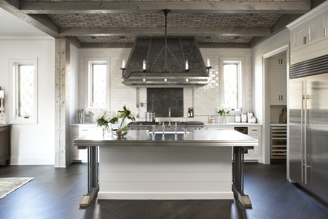 Lake Residence - Transitional - Kitchen - Other - by Linda McDougald on