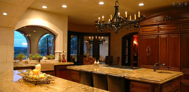 Lake Travis Custom mediterranean-kitchen