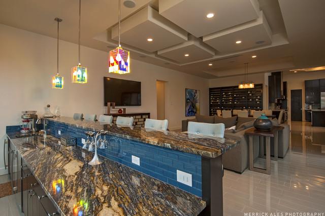 Lake Travis Vista contemporary-kitchen