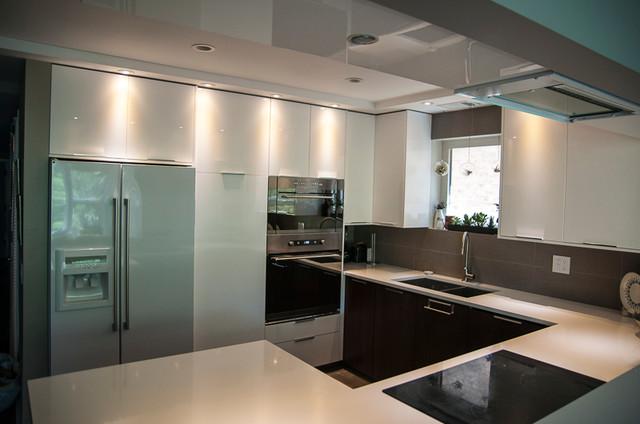 Lake View apartment modern-kitchen