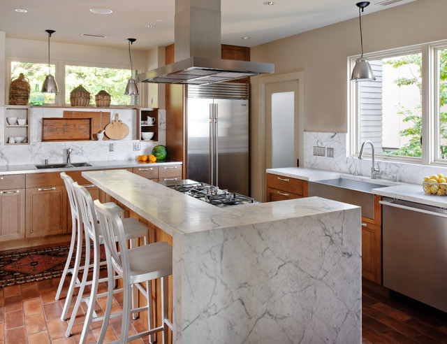 Lake Washington Eclectic Contemporary Kitchen Seattle By Nb Design Group Inc