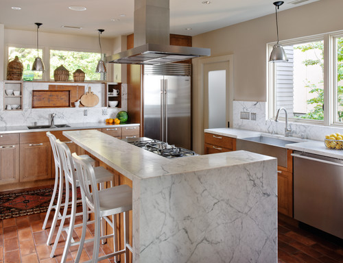 Lake Washington Eclectic eclectic kitchen