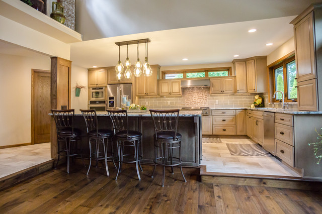 Lake Wausau Kitchen Remodel Contemporary Kitchen Other By Inner Piece Interiors