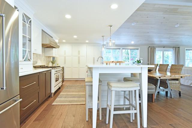 Lakefront Addition and Renovation modern-kitchen