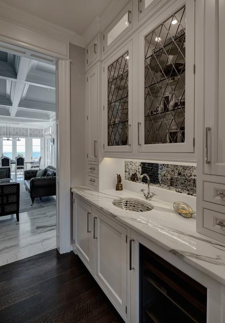 Lakefront Luxury Transitional Kitchen Chicago By Buckingham Interiors Design Llc
