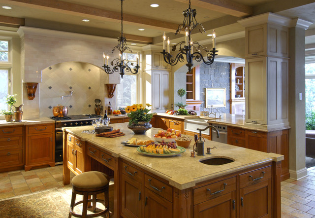 Lakeshore Sophisticate traditional-kitchen