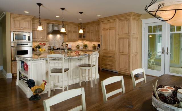 Lakeside Getaway Traditional Kitchen Other By Designs By Dawn At The